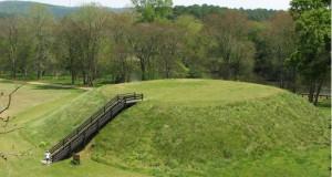 Giant sand mound
